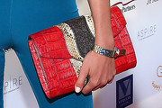 Alina Baikova Leather Clutch