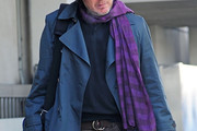 James Spader Patterned Scarf