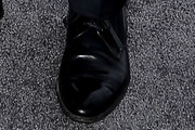 Jean Dujardin Leather Slip On Shoes