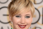 Jennifer Lawrence Layered Razor Cut