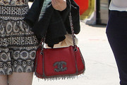 Joanna Newsom Leather Shoulder Bag