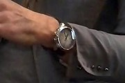 John Varvatos Sterling Chronograph Watch