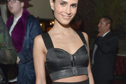 Jordana Brewster Crop Top