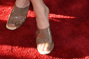 Grace Gummer Slide Sandals Are The Summer Footwear Trend We Can't Get Enough Of
