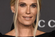 Molly Sims Loose Ponytail