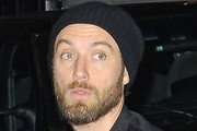 Jude Law Cable Beanie