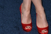 Judy Greer Peep Toe Pumps