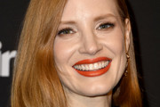 Jessica Chastain Asymmetrical Cut