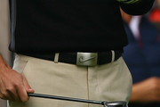 Charl Schwartzel Leather Belt