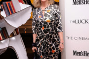 Blythe Danner Print Dress