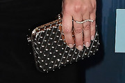 Emily Deschanel Studded Clutch