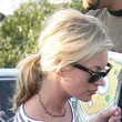 Kate Moss Loose Ponytail