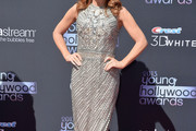 Kathy Griffin Beaded Dress