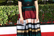 Mayim Bialik Print Dress