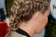 Kendra Wilkinson Long Braided Hairstyle