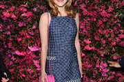 Kiernan Shipka Denim Dress
