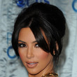 Kim Kardashian French Twist