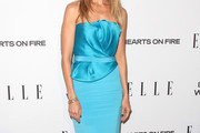 Kim Raver Strapless Dress