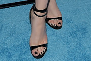 Elizabeth Gillies Strappy Sandals