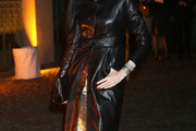 L'Wren Scott Leather Coat
