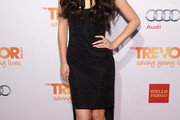 Jessica Sanchez Fishtail Dress