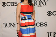 Stephanie J. Block Print Dress