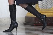 Rachida Dati Knee High Boots