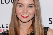 Liana Liberato Long Straight Cut