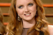 Lily Cole Long Curls