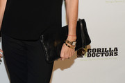 Lisa Rinna Leather Clutch