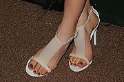 Annabelle Wallis Evening Sandals