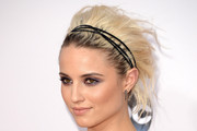 Dianna Agron Messy Updo