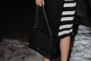 Karlie Kloss Quilted Leather Bag