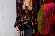 Nicky Hilton Rothschild Sheer Top