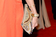 Lara Spencer Beaded Clutch