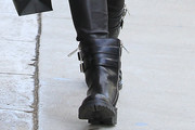 Ruby Rose Motorcycle Boots