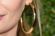 Lauren Santo Domingo Gold Hoops
