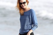 Marcia Cross Crewneck Sweater