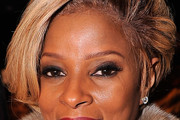 Mary J. Blige Short Side Part