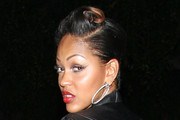 Meagan Good Retro Updo