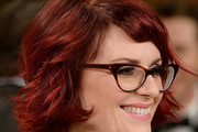 Megan Mullally Layered Razor Cut