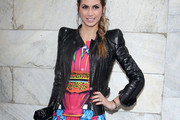 Melissa Satta Leather Jacket