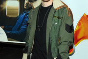 Mike Posner Military Jacket