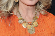 Morgan Fairchild Gold Charm Necklace
