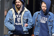 Shia LaBeouf Denim Jacket