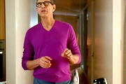 Jeff Goldblum V-neck Sweater