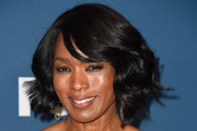 Angela Bassett Curled Out Bob