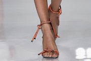 Joan Smalls Strappy Sandals
