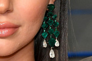 Kendall Jenner Gemstone Chandelier Earrings