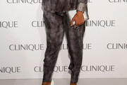 Selita Ebanks Print Pants